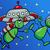 ufo · Cartoon · ilustración · tres · funny · cómico - foto stock © izakowski