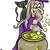 heks · fairy · fantasie · cartoon · illustratie · cute - stockfoto © izakowski