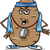 ソファ · ジャガイモ · 幸せ · 漫画 · テレビ - ストックフォト © izakowski