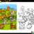 cartoon · honden · ingesteld · kleurboek · pagina · illustratie - stockfoto © izakowski