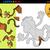majom · puzzle · gyerekek · játék · rajz · szabadtér - stock fotó © izakowski