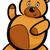 teddybeer · schets · icon · vector · geïsoleerd - stockfoto © izakowski