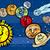 felice · cartoon · illustrazione · pianeta · guardando · sorridere - foto d'archivio © izakowski