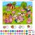 desenho · animado · educação · jogo · crianças · comida - foto stock © izakowski