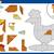 cartoon hen jigsaw puzzle task stock photo © izakowski