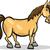Pferd · Karikatur · Illustration · funny · Bauernhof - stock foto © izakowski
