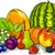 bes · vruchten · cartoon · illustratie · vier · zoals - stockfoto © izakowski