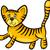tijger · mascotte · grafische · vector · afbeelding · team - stockfoto © izakowski