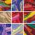 abstract painting background design set stock photo © izakowski