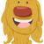 cute dog cartoon character stock photo © izakowski