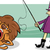 лев · смешные · Cartoon · вектора · цирка · иллюстрация - Сток-фото © izakowski