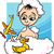 Cartoon · sabueso · bano · ilustración · toma · agua - foto stock © izakowski