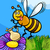 abeille · insecte · cartoon · illustration · drôle · abeille - photo stock © izakowski