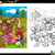 farm animals coloring book stock photo © izakowski