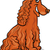 peloso · cane · cartoon · illustrazione · cute · divertente - foto d'archivio © izakowski