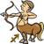astrologia · segno · zodiaco · arciere · alfabeto - foto d'archivio © izakowski