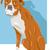 bokser · hond · emoticon · tekening · cartoon - stockfoto © izakowski