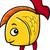 engraçado · peixe-dourado · feliz · olho · peixe · natureza - foto stock © izakowski