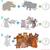 addition maths game with animals stock photo © izakowski