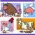 cartoon sayings or proverbs concepts set stock photo © izakowski
