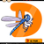 livro · para · colorir · libélula · flor · livro · natureza · arte - foto stock © izakowski
