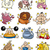 overweight cartoon zodiac signs stock photo © izakowski