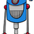 面白い · ロボット · 漫画 · 実例 · ファンタジー · 文字 - ストックフォト © izakowski