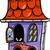 haunted house cartoon illustration stock photo © izakowski