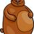 cartoon · ilustracja · grizzly · bear · cute · brązowy · szczęśliwy - zdjęcia stock © izakowski