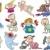 cartoon babies and children set stock photo © izakowski