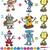 数学 · 番号 · ゲーム · 実例 · ツリー · 背景 - ストックフォト © izakowski