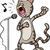пения · кошки · Cartoon · ретро · рисунок · Cute - Сток-фото © izakowski