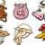 パターン · デザイン · 漫画 · 家畜 · 実例 · 装飾的な - ストックフォト © izakowski