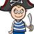 mały · pirackich · dziecko · marynarz · kostium · uśmiechnięty - zdjęcia stock © izakowski