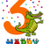 third birthday cartoon card stock photo © izakowski