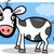 корова · Cartoon · белый · продовольствие · улыбка · человека - Сток-фото © izakowski
