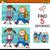 farklılıklar · etkinlik · çocuklar · karikatür · örnek - stok fotoğraf © izakowski