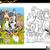 dog breeds coloring page stock photo © izakowski