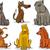 cartoon · illustrazione · cute · cane · cucciolo · divertente - foto d'archivio © izakowski