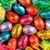 kleurrijk · paaseieren · gras · pluizig · chick · speelgoed - stockfoto © jackethead