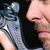 man · schoen · lopen · oog · gezicht - stockfoto © jackethead