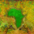 grunge background with continent of africa stock photo © jackybrown