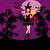 assustador · noite · vermelho · lua · natureza · silhueta - foto stock © jackybrown