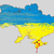 ukraine vector map blood in crimea stock photo © jackybrown