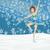 図 · スケート · スケート · 白 · 少女 · スポーツ - ストックフォト © jackybrown