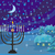 Winter Christmas scene - hanukkah menorah abstract card  stock photo © JackyBrown