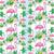 ピンク · フラミンゴ · 立って · 青 · 実例 · 美 - ストックフォト © jackybrown