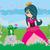 rana · príncipe · ilustración · princesa · beso · nina - foto stock © jackybrown