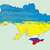 Ukraine vector map , Russia in Crimea stock photo © JackyBrown