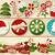 karácsony · torta · hagyományos · gyümölcskenyér · fehér · szőlő - stock fotó © jagoda